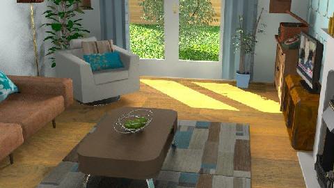 retro blue - Retro - Living room - by Lisa R