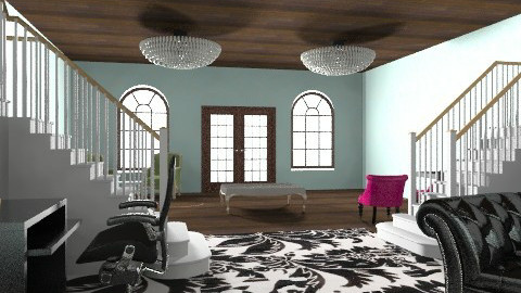 Elegant Mansion - Vintage - Living room  - by apbeagles