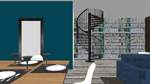 steen - Retro - Living room  - by homoo