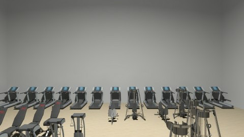 gym room - by noy12345678noni