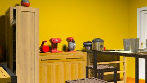 Kitchen - Retro - Kitchen  - by lolarose123