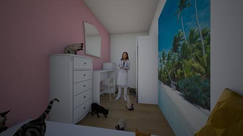 Andelas Zimmer - Modern - Bedroom  - by Gordana Ilic