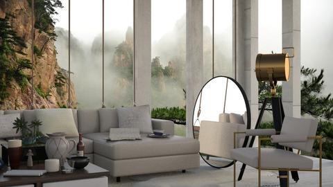 Organic Mount - Modern - Living room  - by Gurns