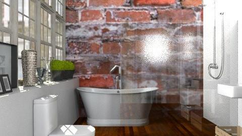 Bathroom in the Warehouse Apartment - Modern - Bathroom - by Carliam