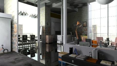 WarehouseProjekte - Eclectic - Living room - by mem urquijo