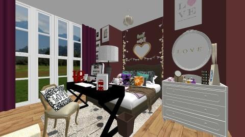 Tumblr Teen Bedroom 10TH - Country - Bedroom  - by kbosse