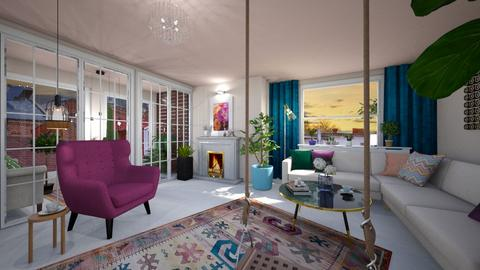 More is more3 - Modern - Living room - by Andrula