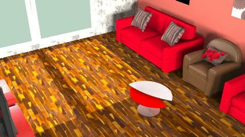 Chocolate and roses competition - Minimal - Living room  - by designerrich123