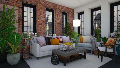 Redmond Living - Eclectic - Living room - by paluvica