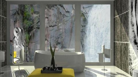 Tranquil Bath - Modern - Bathroom  - by Adrienne Danyel