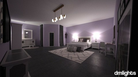 KINGSLEY ROOM DECOR - Minimal - Bedroom  - by DMLights-user-1593471