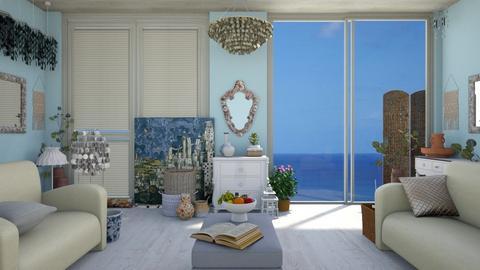 G Summer Shell - Living room - by ilikalle