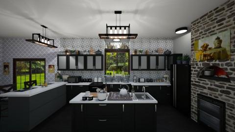 Kitchen  - Modern - Kitchen  - by  krc60