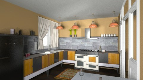 kitch50s - Retro - Kitchen  - by Yoshi Yogataga
