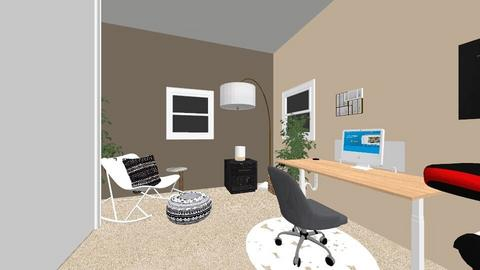 Small Office style - Modern - Office  - by aghaworth