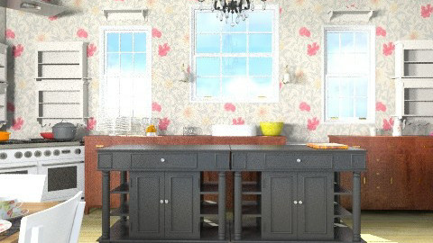 country kitchen - Country - Kitchen  - by alliesmiley