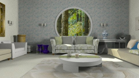 bohimi bamboo - Living room - by saraftayeh