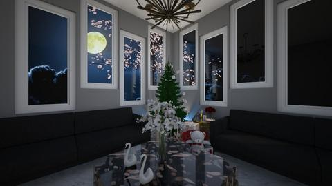 Christmas Room Contest - Vintage - Living room  - by vallequeen