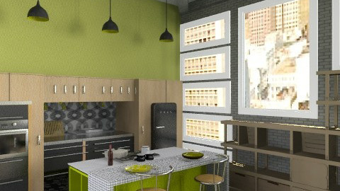 lime in the coconut - Modern - Kitchen  - by starsector
