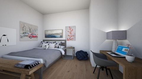 Grey room - Bedroom  - by Magnolia52