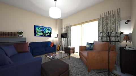 m livi - Living room - by ilikalle