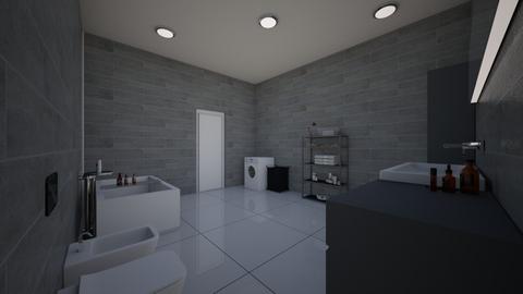 village 1 - Bathroom  - by 32000