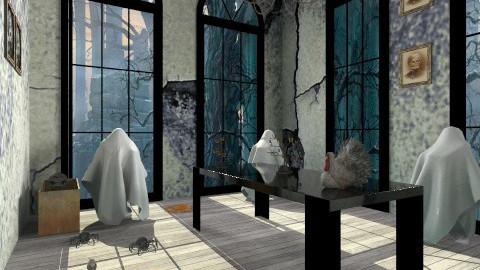halloween - Vintage - Living room  - by Stanojkovic