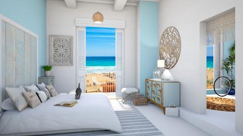 beach bedroom - Bedroom  - by rasty