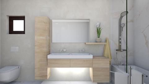 Drobeta  baie garaj - Bathroom - by Flori Santa