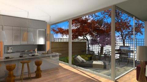 Garden - Modern - Kitchen  - by amandafern