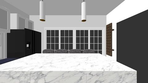 Sister Kitchen Option 1A - by kgirotti