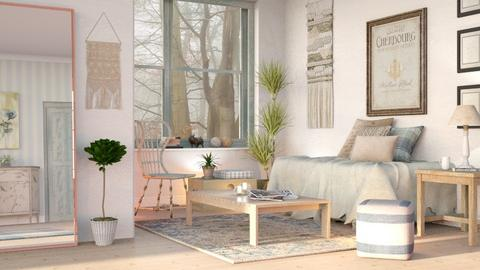 Blurry Living - Eclectic - Living room  - by Sally Simpson