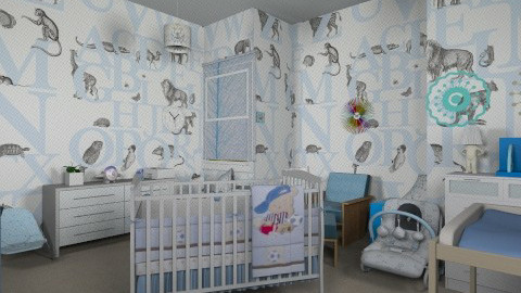 Baby Boy - Kids room  - by ebonee