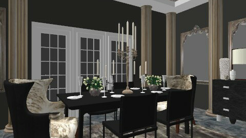 Luxurious Dining - Classic - Dining room - by laurawoodley