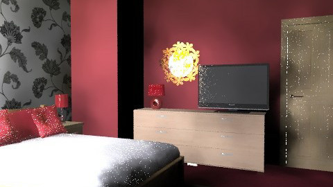 Beech Red Bedroom - Country - Bedroom  - by tanithrea