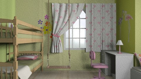 Emma és Emily03 - Classic - Kids room  - by Audrey17