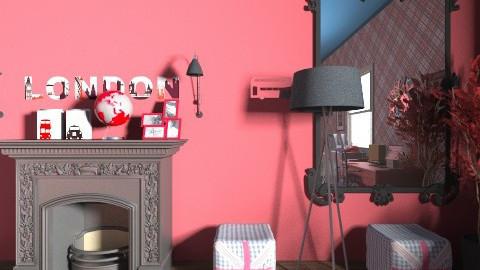 london style - Bedroom  - by Liya Zohar