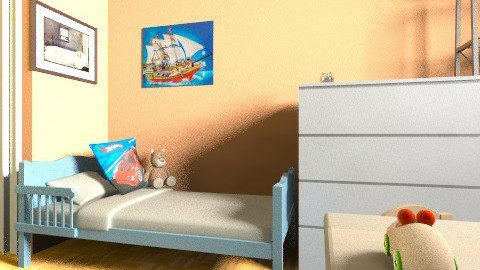 cote_loulou2 - Eclectic - Kids room  - by bwebox