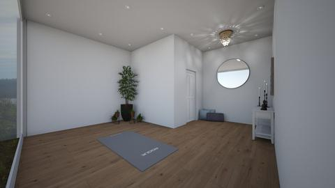 Yoga And Meditation Room - Eclectic - Living room  - by tcooney
