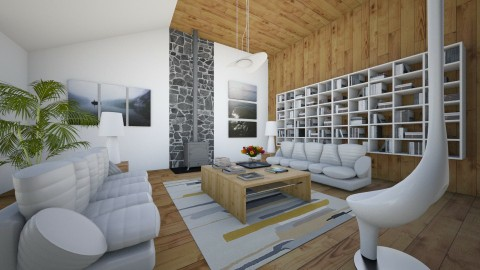 Finnish Fantasy - Eclectic - Living room  - by Theadora