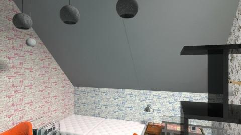 mieszkanie - Vintage - by ornamentatorka