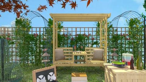 Garden Rooftop Picnic - Minimal - Garden  - by Siti Idrus