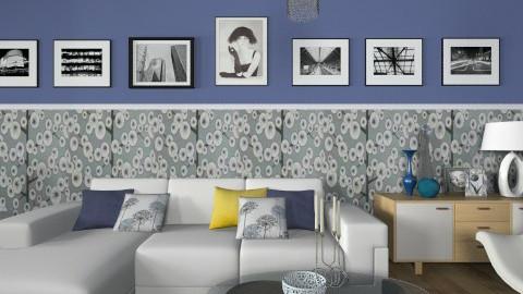 Blue Inspired - Modern - Living room  - by janip