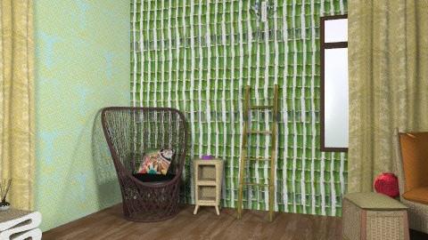 Hippy - Rustic - Living room  - by drummerx33grl17