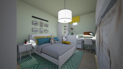 horse bedroom - Kids room  - by Iladesign