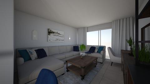 Sarah Apt 1 - Living room - by emmanuelmanny