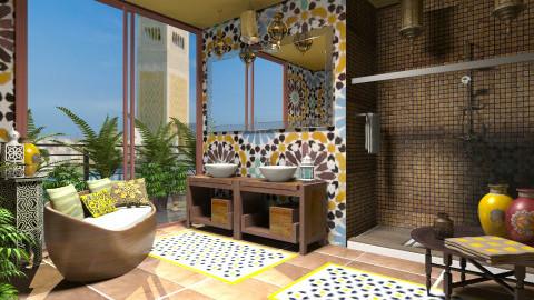 Tunisian fragrance - Bathroom  - by Giuiulai