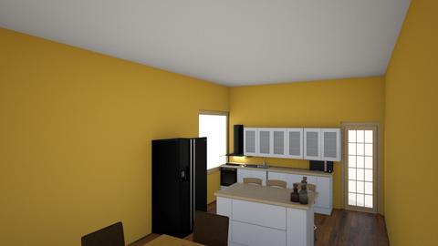 Disaster - Classic - Kitchen - by Miodrag Nencic