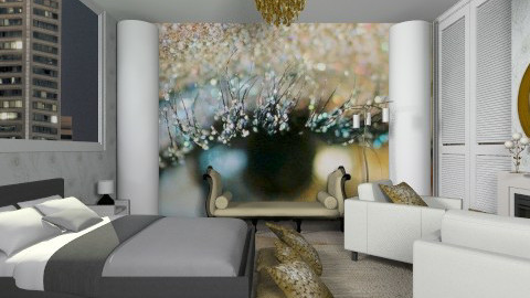 Artist Bedroom - Glamour - Bedroom  - by Luisy