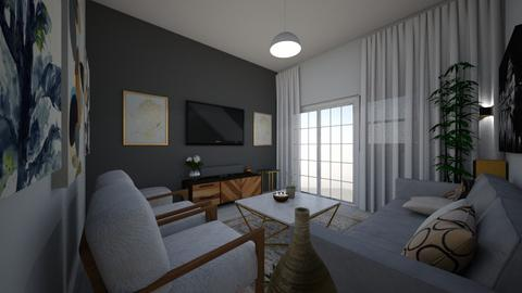 Apartment Chic - Living room - by BPaile